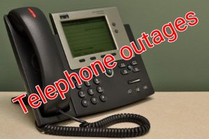Telephone outages expected