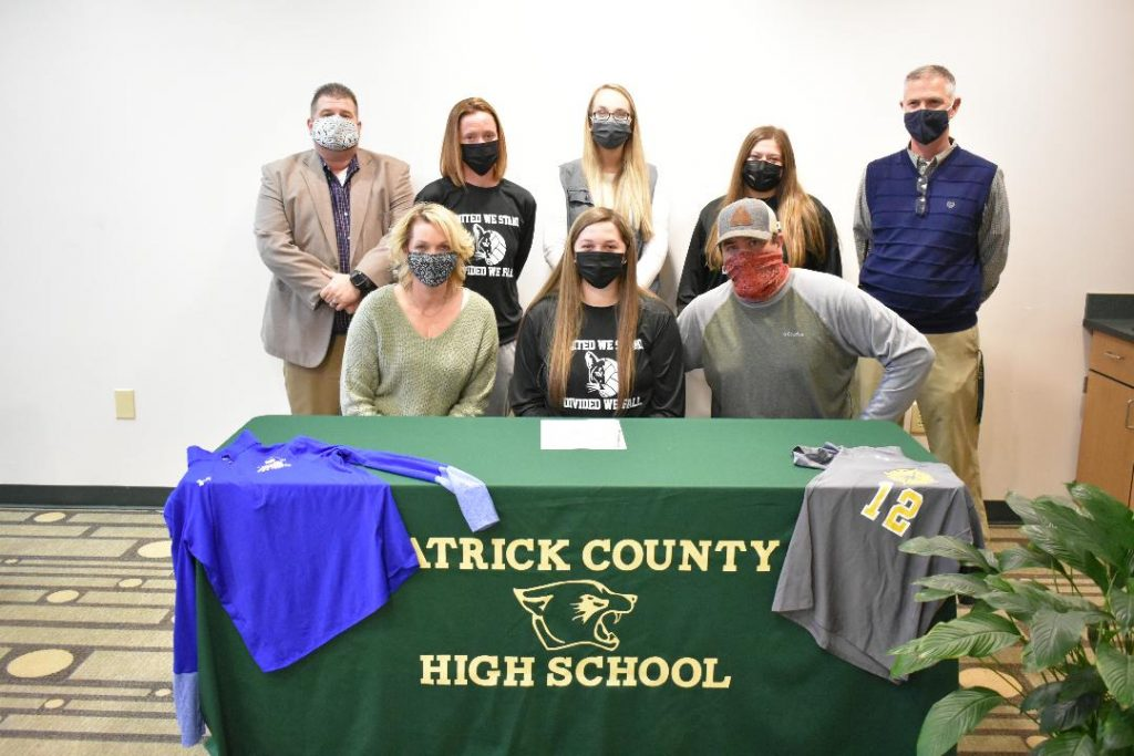Trio of PCHS seniors to play volleyball for PHCC